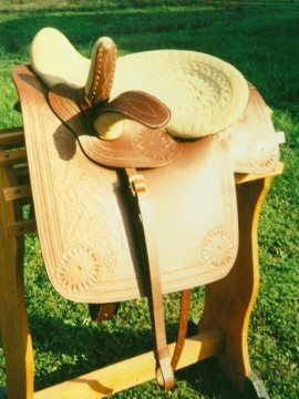 Antique Side Saddle